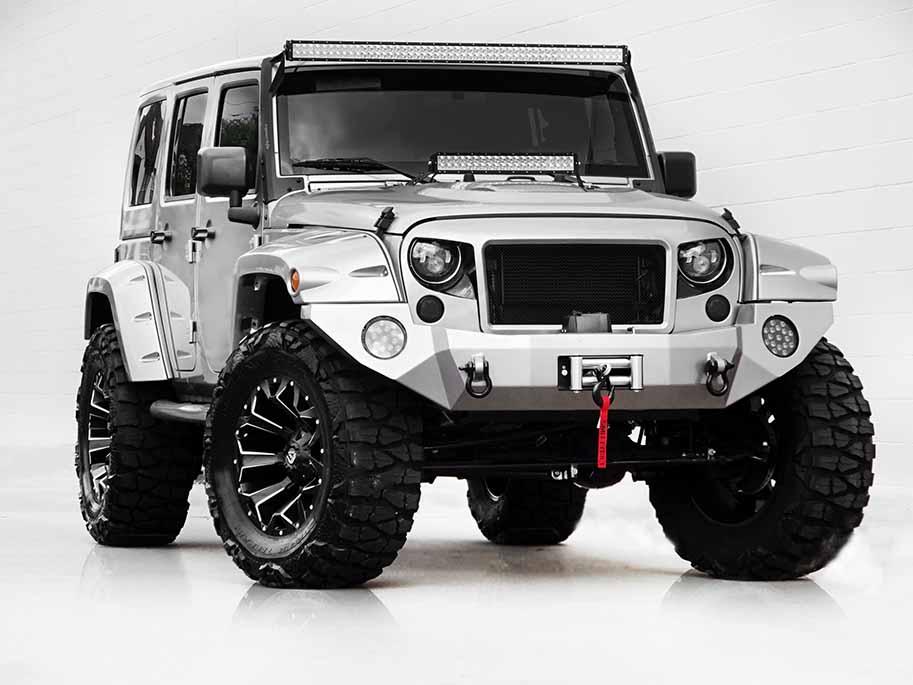 JK Series   Captain Edition   Custom Jeep Interior ...