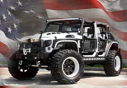 All American Limited Edition Jeep Customization