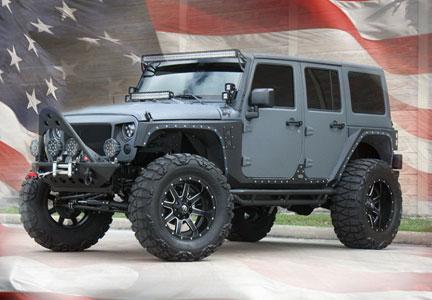Build Your Own Jeep Houston Dallas Tx Custom Jeep Interior